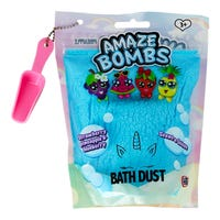 Amaze Bombs Bath Dust in Blueberry