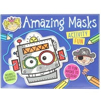 Colour And Wear Amazing Masks Blue Book