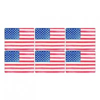 Pimpernel American Flag Placemats Set of 6