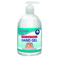 Hygienics Anti-Bacterial Hand Gel 500ml