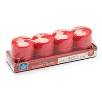 Set Of 4 Votive Candles Apple And Cinnamon