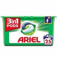 Ariel 3in1 Pods Original Washing Capsules 25 Pack