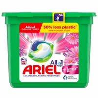 Ariel +Lenor Freshness All-in-1 Washing Liquid Pods 22 Washes