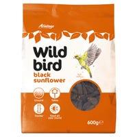 Armitage Wild Bird Black Sunflower Seeds 600g