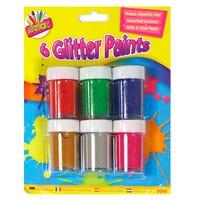 Artbox Glitter Paint Pots 6 Pack