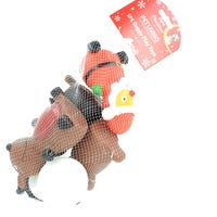Christmas Squeaky Dog Toys 5 Pack
