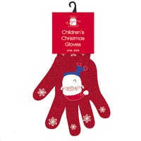 Assorted Childrens Christmas Gloves