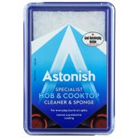 Astonish Paste Hob and Cooktop Cleaner and Sponge 250g