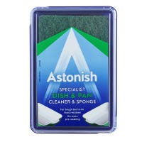 Astonish Paste Dish and Pan Cleaner and Sponge 250g