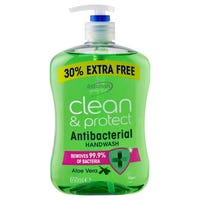 Astonish Handwash Clean and Protect Aloe Vera 650ml