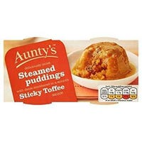 Aunty's Steamed Puddings Sticky Toffee 2 Pack