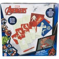 Avengers Ultimate Glow Art