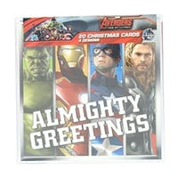 Acetate Cube Marvel Avengers Cards 20 Pack