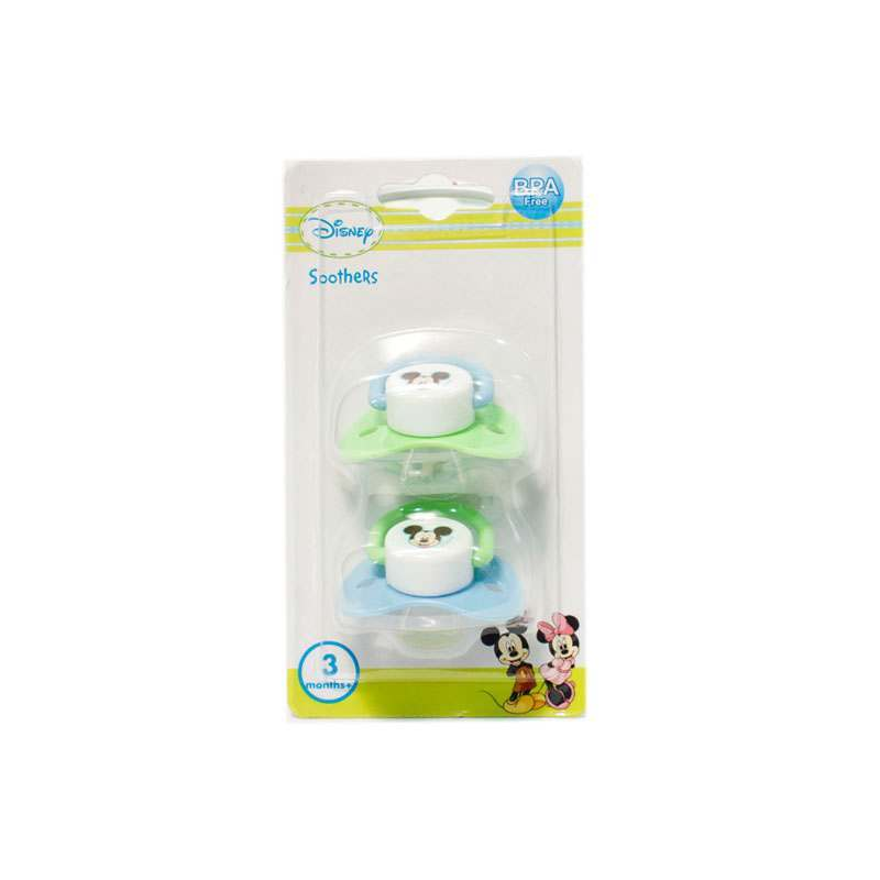 Mickey Soother 2 Pack