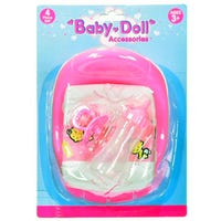 Baby Doll Potty and Nappy Playset