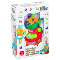 Baby Rattle Set in Caterpillar Design Assorted