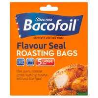 Bacofoil Flavour Seal Roasting Bags Large 5 Pack