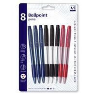Ballpoint Pens 8 Pack