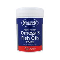 Basic Nutrition Omega 3 Fish Oils 30 Tablets