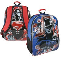 Large Batman Vs Superman Reversible Backpack
