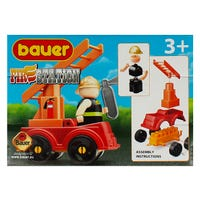Bauer Building Blocks Fire Station Set