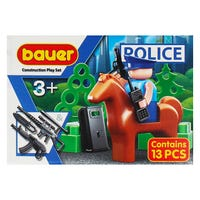 Bauer Building Blocks Police Set