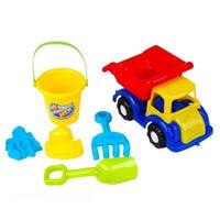 Beach Car Playset 6 Piece