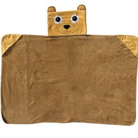 Hooded Cuddle Bear Blanket