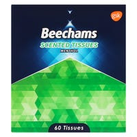Beechams Menthol Scented Tissues 60 Pack