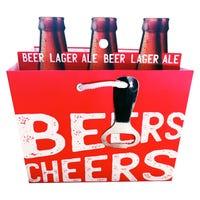 Beer Bottle Gift Bag