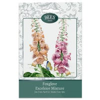 Bees Flower Seeds Foxglove Excelsior Mix