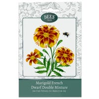 Bees Flower Seeds Marigold French Dwarf Double Mix