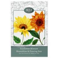 Bees Flower Seeds Sunflower Moonshine and Evening Sun Mix