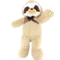 Soft Plush Sloth Beige 34cm