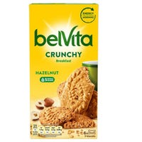Belvita Crunchy Hazlenuts 6 Pack