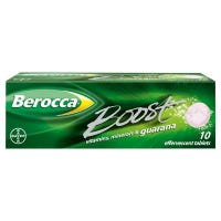 Berocca Boost Effervescent Tablets - 10 Pack