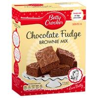 Betty Crocker Chocolate Fudge Brownie Cake Mix 415g