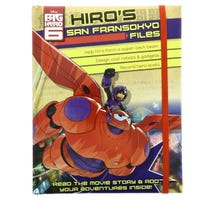 Big Hero 6 Hiro's San Francisco Files Book