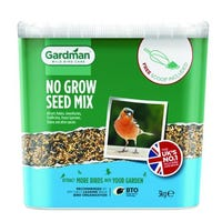 Gardman No Grow Seed Mix 3kg