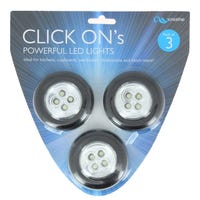Creative Click On LEDs Black