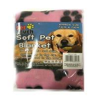 Soft Pet Blanket Pink