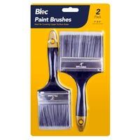 Bloc Paint Brushes 2 Pack