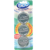 Bloo In Cistern Forest Green 3 Pack