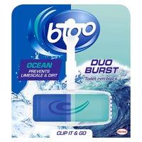 Bloo Antibacterial Duo Rim Blocks 40g
