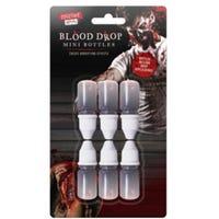 Blood Drop Mini Bottles 6 Pack