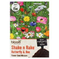 Bloom Shake n Rake Butterfly and Bee Seed Mixture