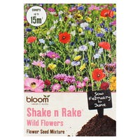 Bloom Shake n Rake Wild Flowers Seed Mixture