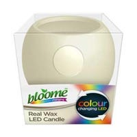 Colour Changing Real Wax LED Candle