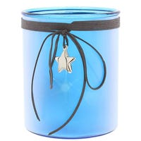 5 Led Star Lantern Blue 15cm