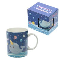 Narwaii & Friends Narwhal Ceramic Mug